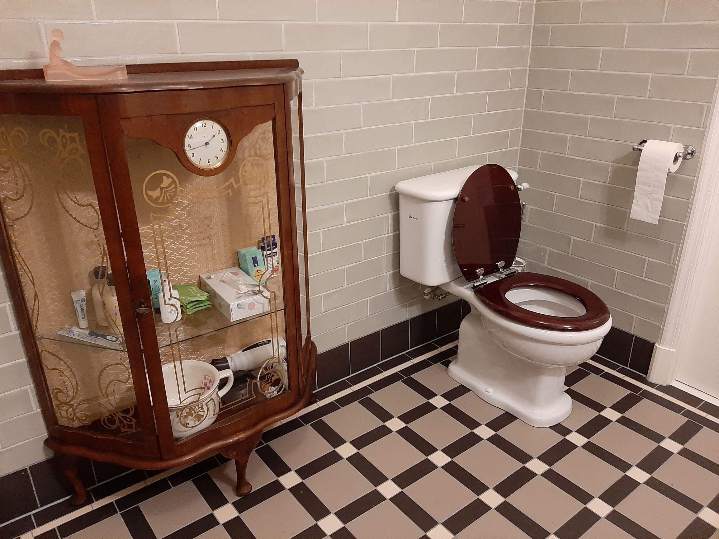 Toilet B&B De Oude Dame