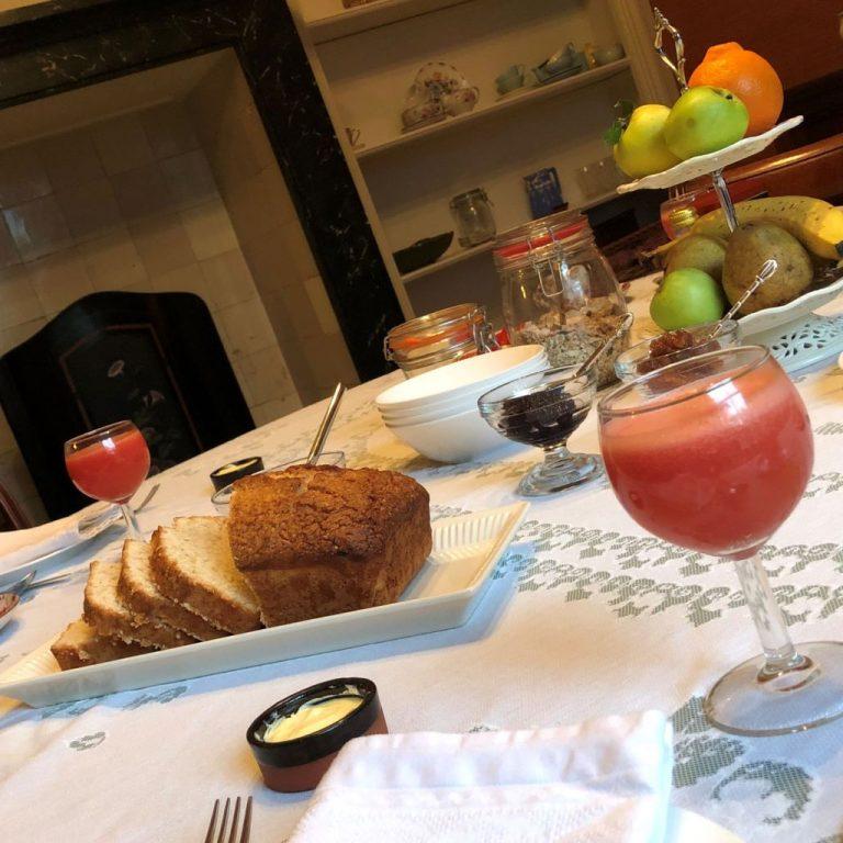 Ontbijten bij B&B De Oude Dame Easterein